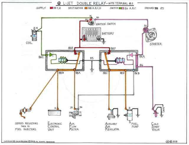 thesamba.com :: bay window bus - view topic - 2.0l efi ... 1969 vw bug radio wiring diagrams