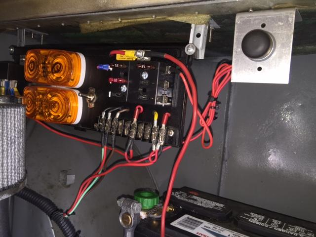 Auxiliary panel for engine tuning