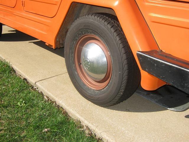 Douglas Xtra Trac II, 205/75 R 14 tires, on stock rims