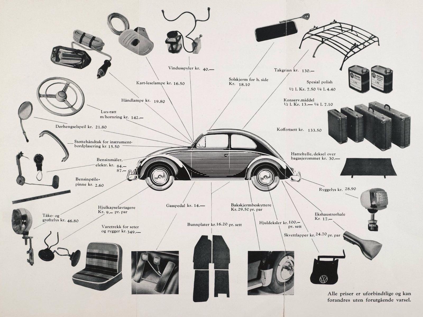 Rare accessories