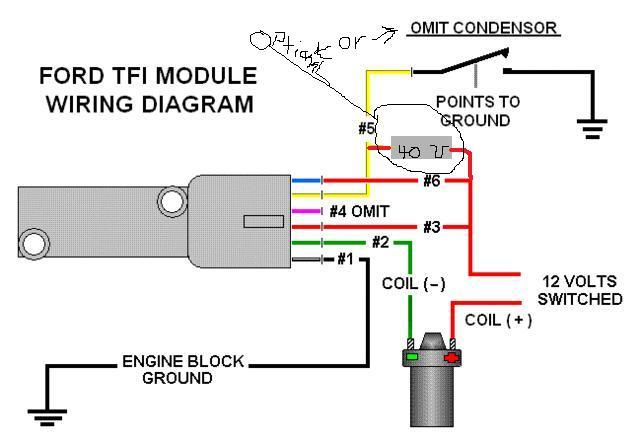 Ford Tfi Module Wiring Diagram on ford mustang