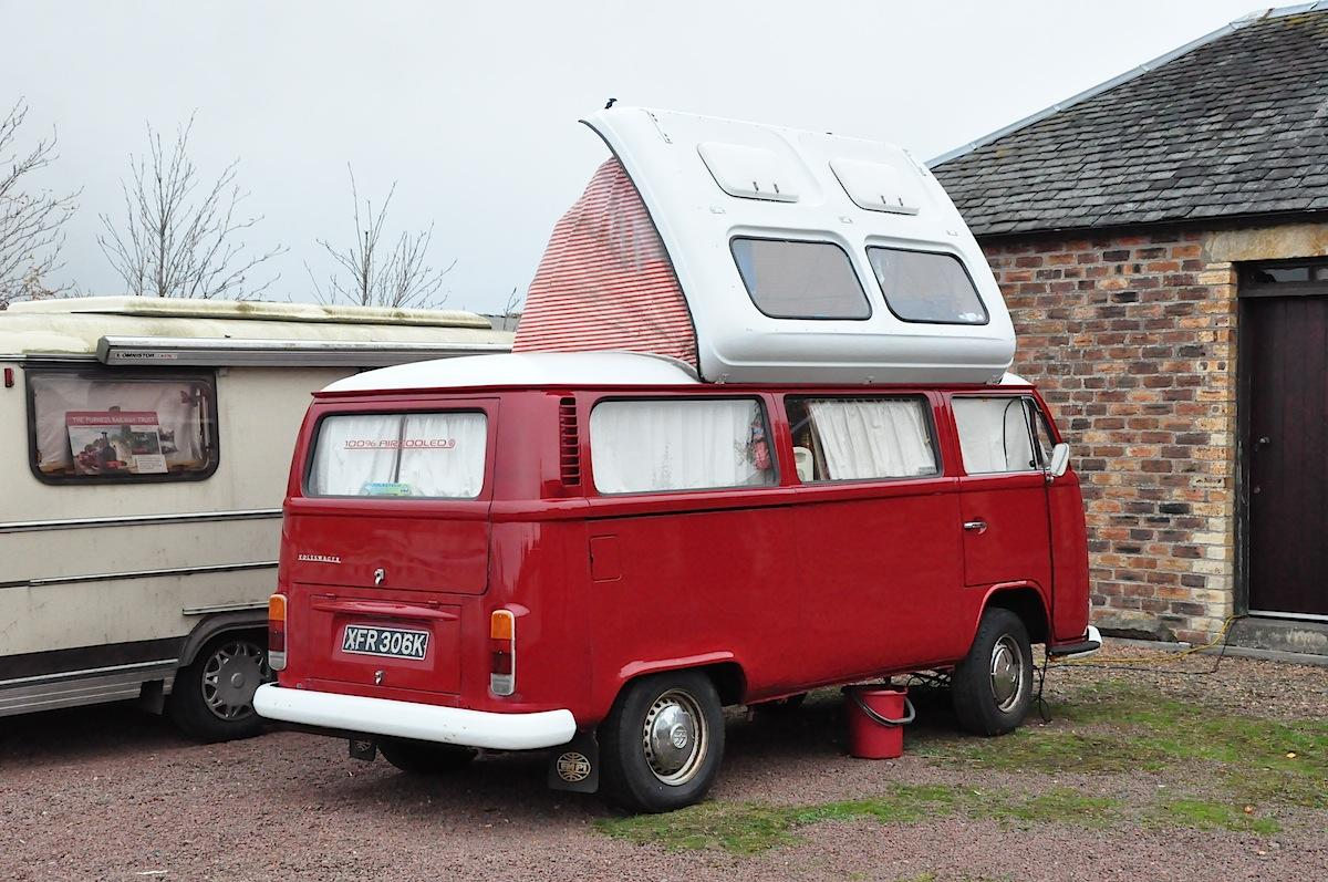 Nice Camper at Bo'ness, Scotland