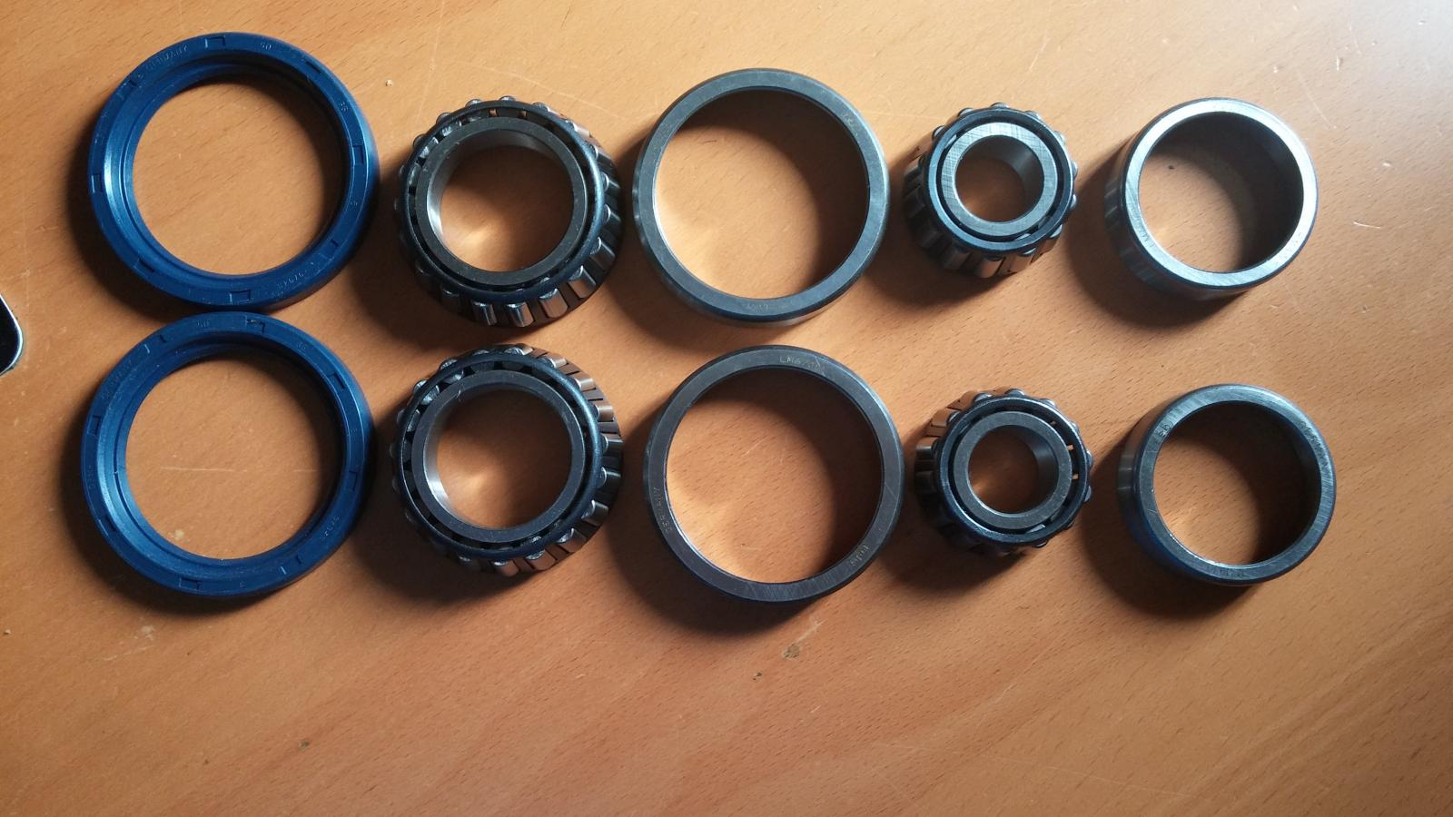 Wheel bearing parts