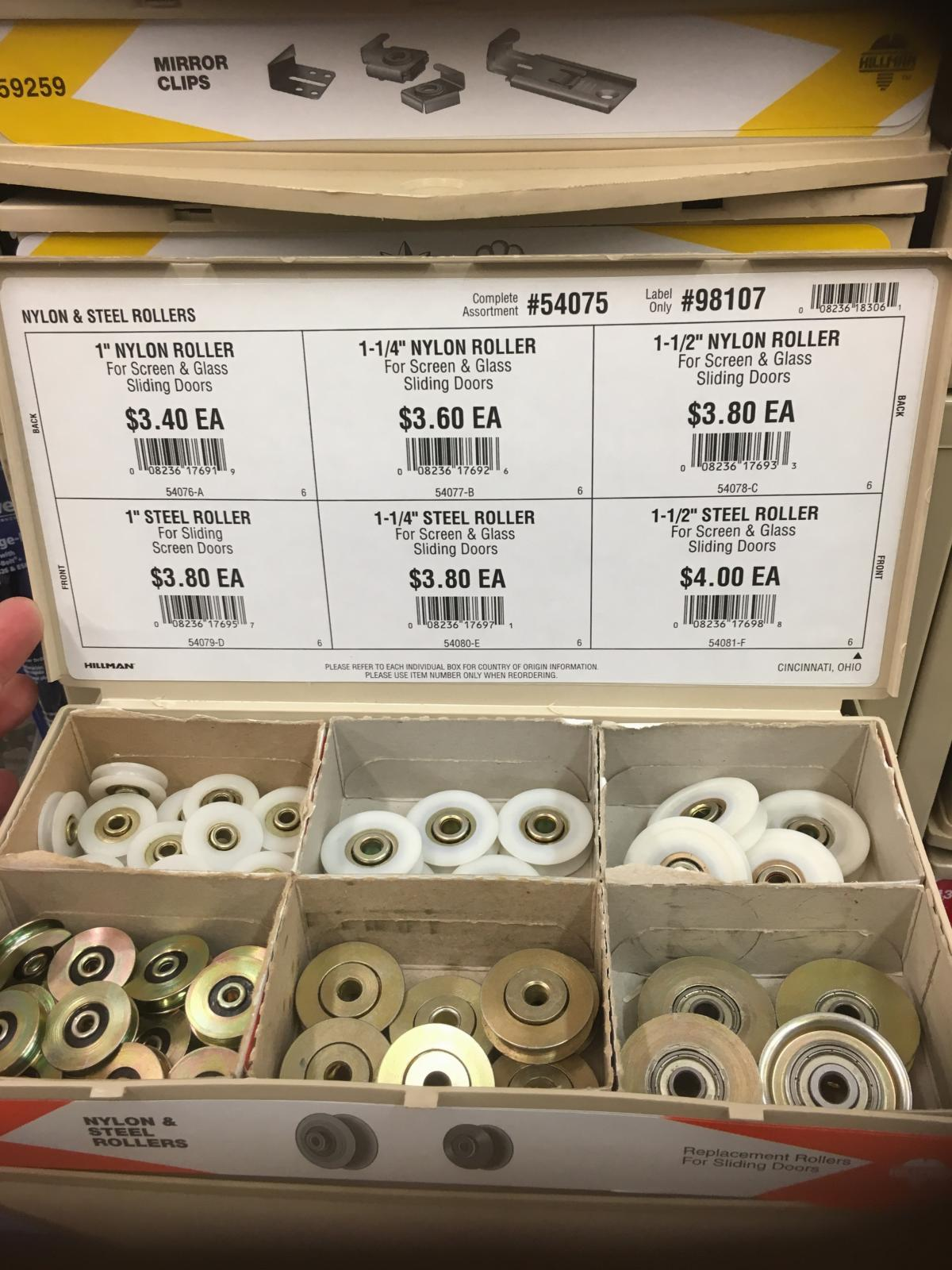 Image may have been reduced in size. Click image to view fullscreen. & TheSamba.com :: Vanagon - View topic - Sliding Door Rollers/Bearings ...