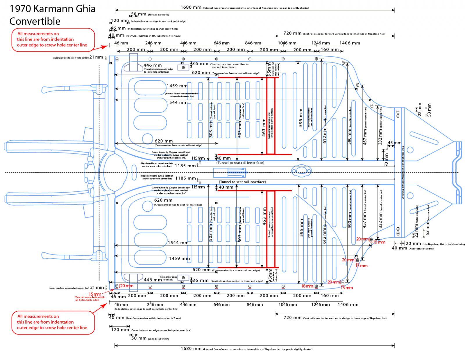 TheSamba.com :: Ghia - View topic - Karmann Ghia floor pan and ...