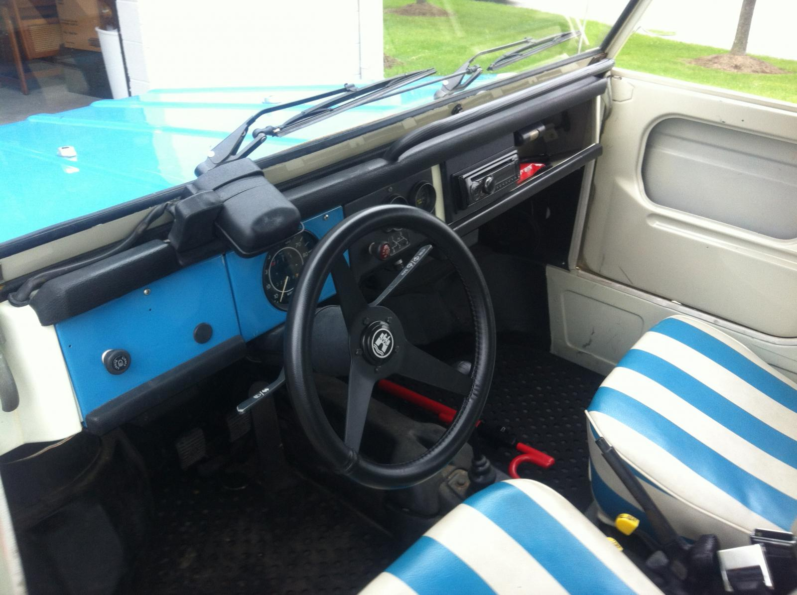 thing interior when purchased