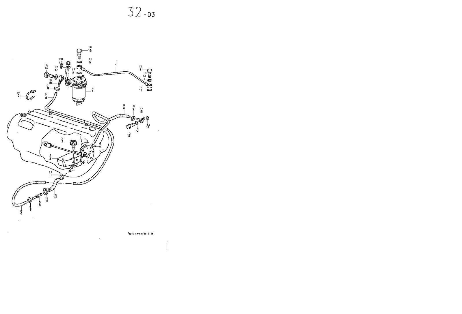 Syncro Diesel Fuel Tank Schematic