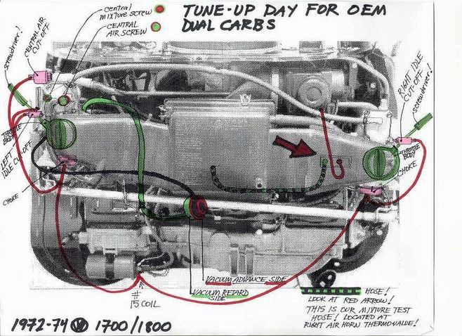 thesamba com bay window bus view topic adjusting dual carbs image have been reduced in size click image to view fullscreen