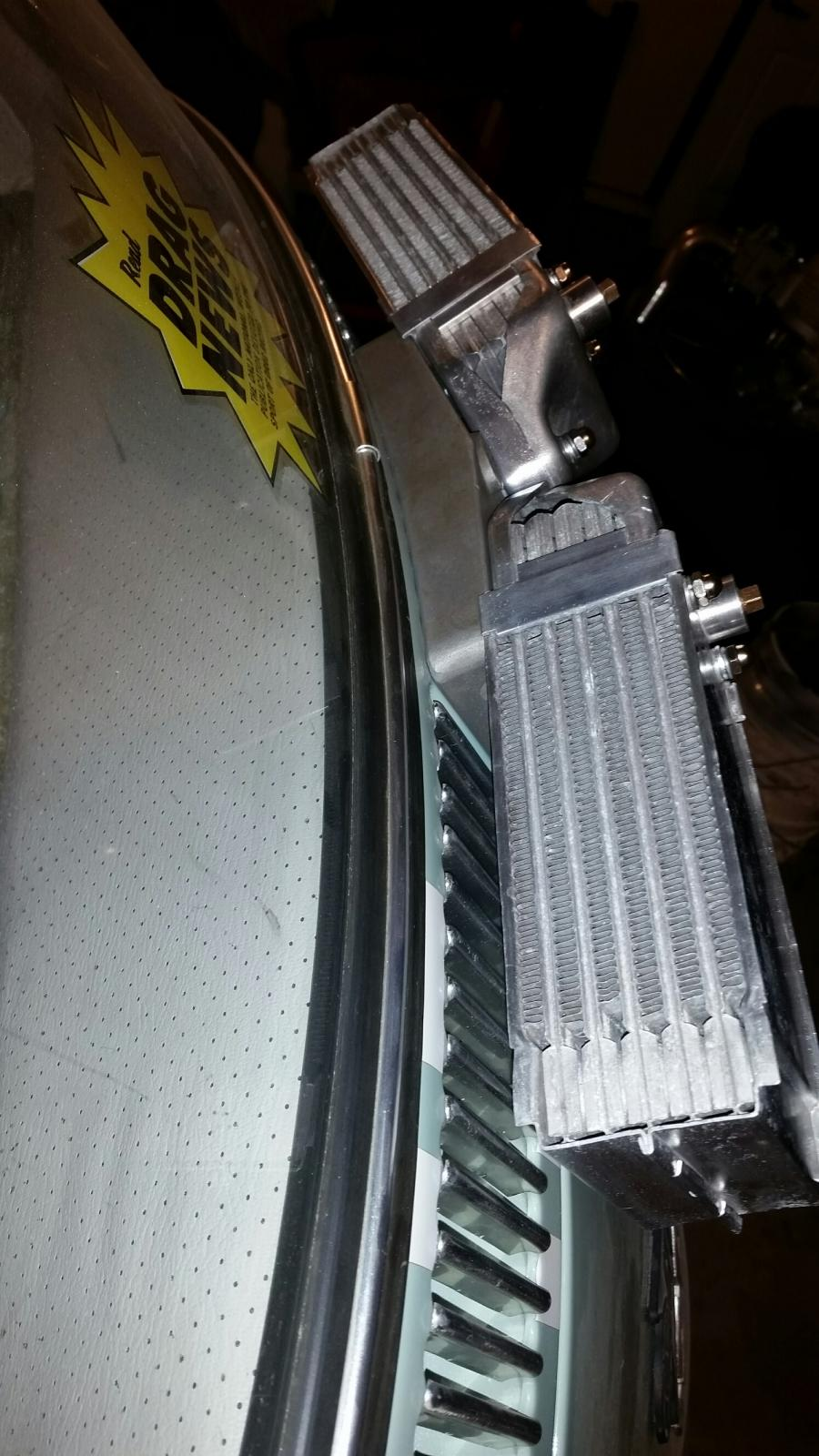 Empi Dual Oil Cooler on my 1966 Empi GTV MKIV