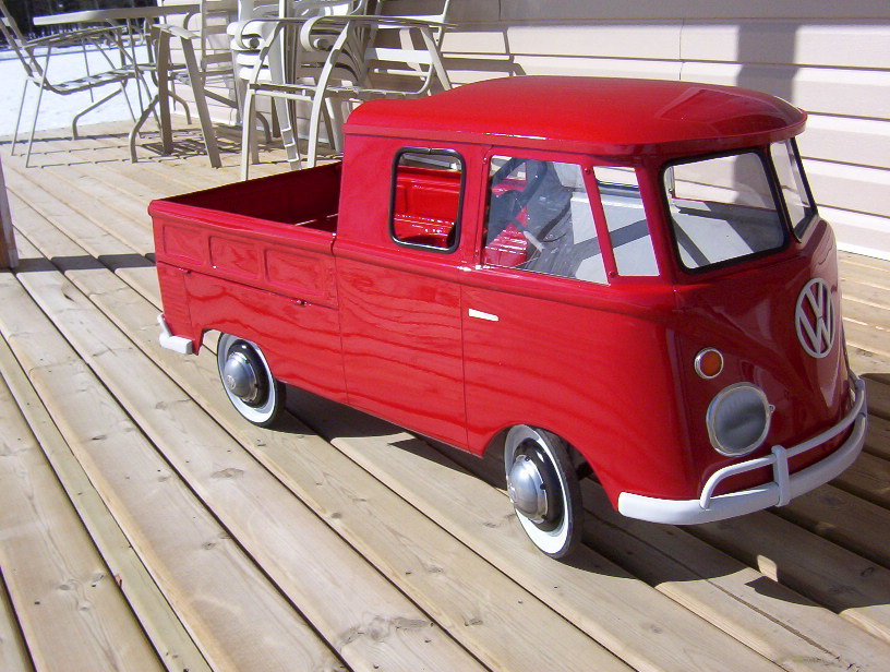 Type 2 Double Cab Pedal Car