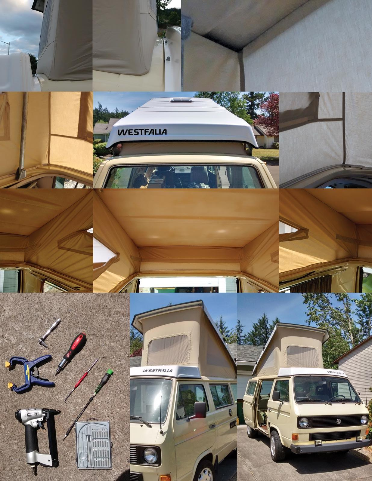 Image may have been reduced in size. Click image to view fullscreen. & TheSamba.com :: Vanagon - View topic - Staple Type Pop Top Tent ...