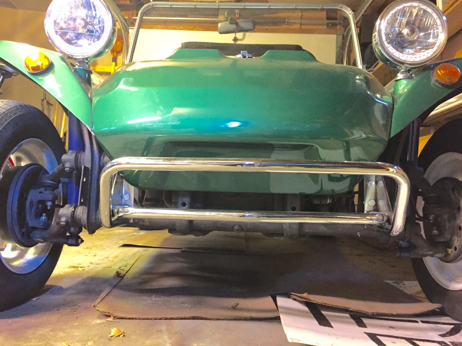 Front bumper, Manx