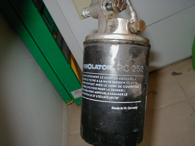 Weird german oil filter- purOlator