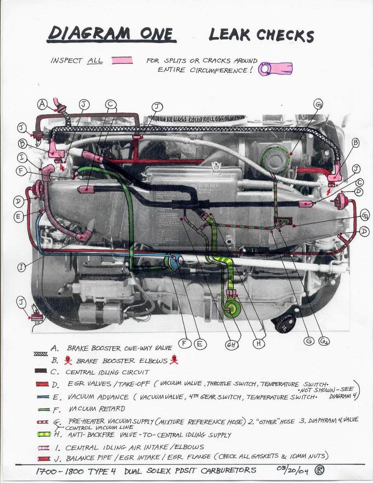 thesamba com gallery vacuum leak search dual solex buses 72 74 rh thesamba com VW 1600 Engine Diagram 1999 VW Beetle Engine Diagram