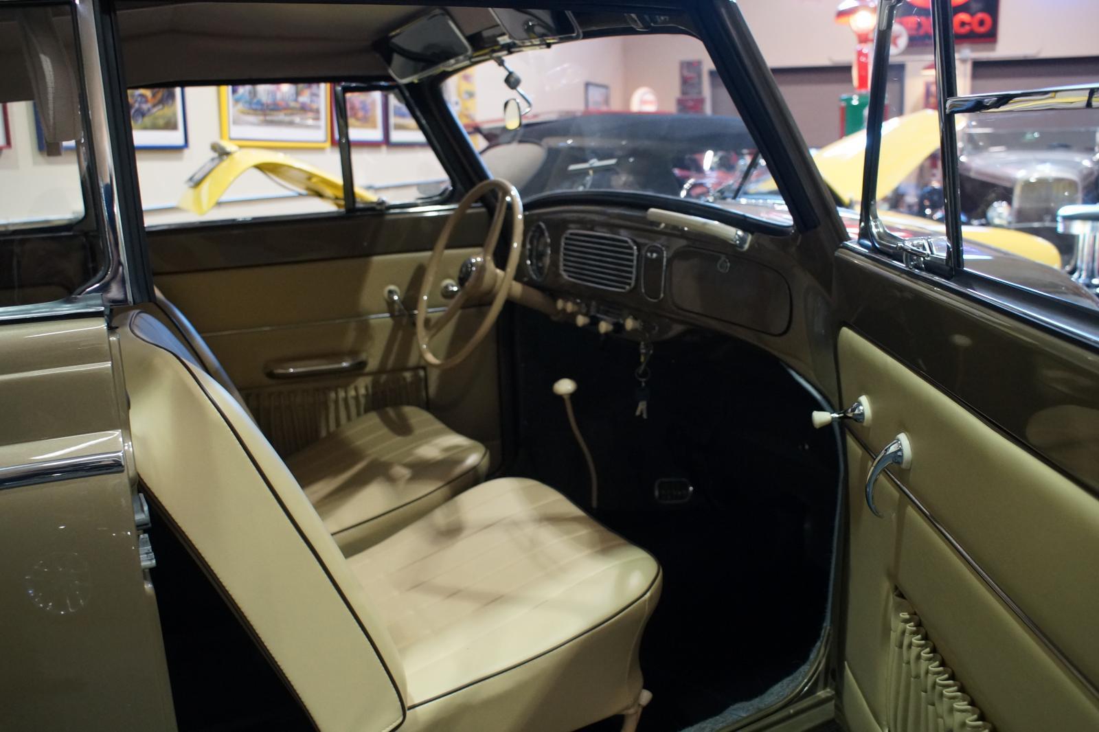 1956 Sepia Silver Vert 23,000 original miles