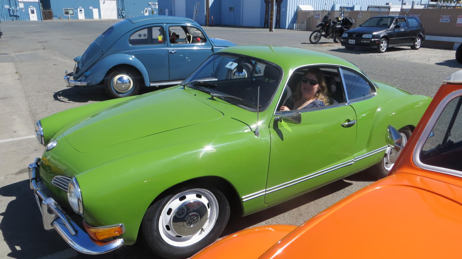 Kathy's '71 Ghia at the Open House event at LaVere's, Concord, CA