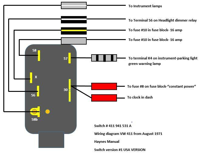 Image May Have Been Reduced In Size Click To View Fullscreen: Vw 411 412 Fuse Box At Shintaries.co