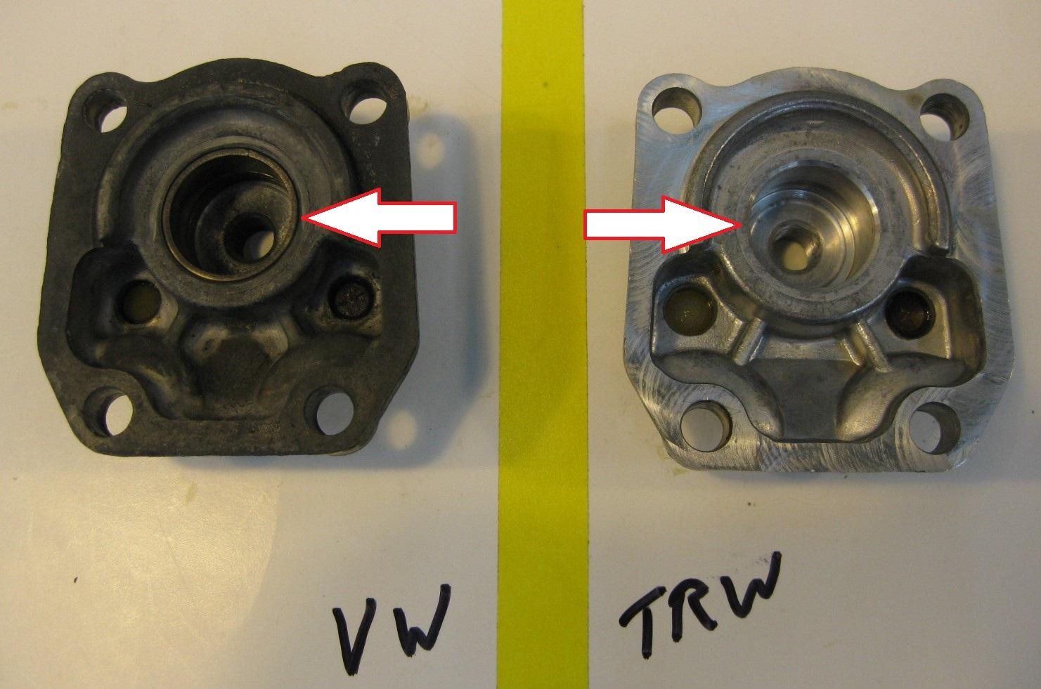 TheSamba com :: Type 3 - View topic - Steering Boxes: VW vs  TRW