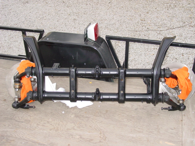 Narrowed beam & tow bar? - Shoptalkforums com