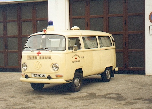 ´71 Red Cross Ambulance