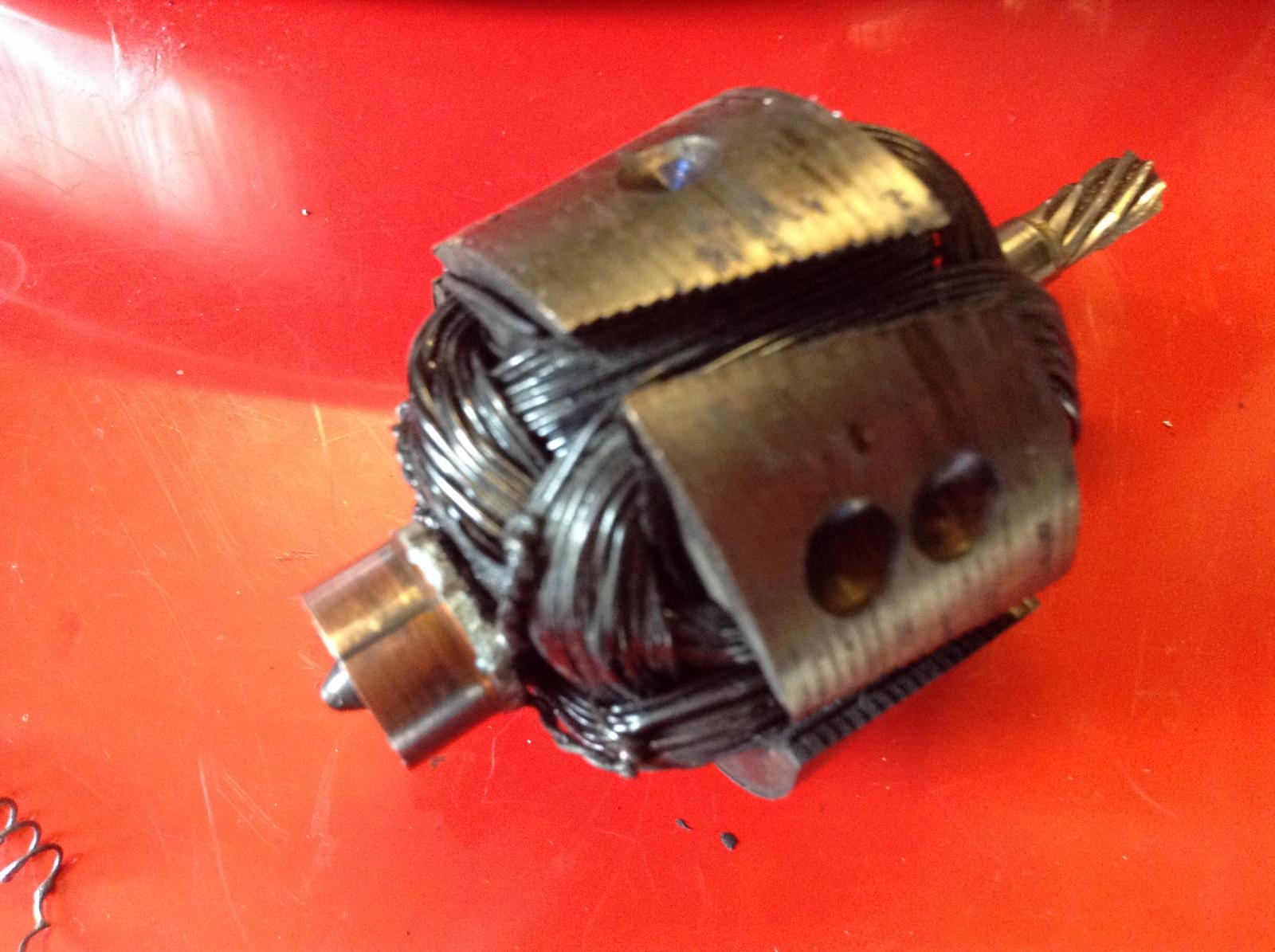 Ghia wiper motor 12v conversion issues.