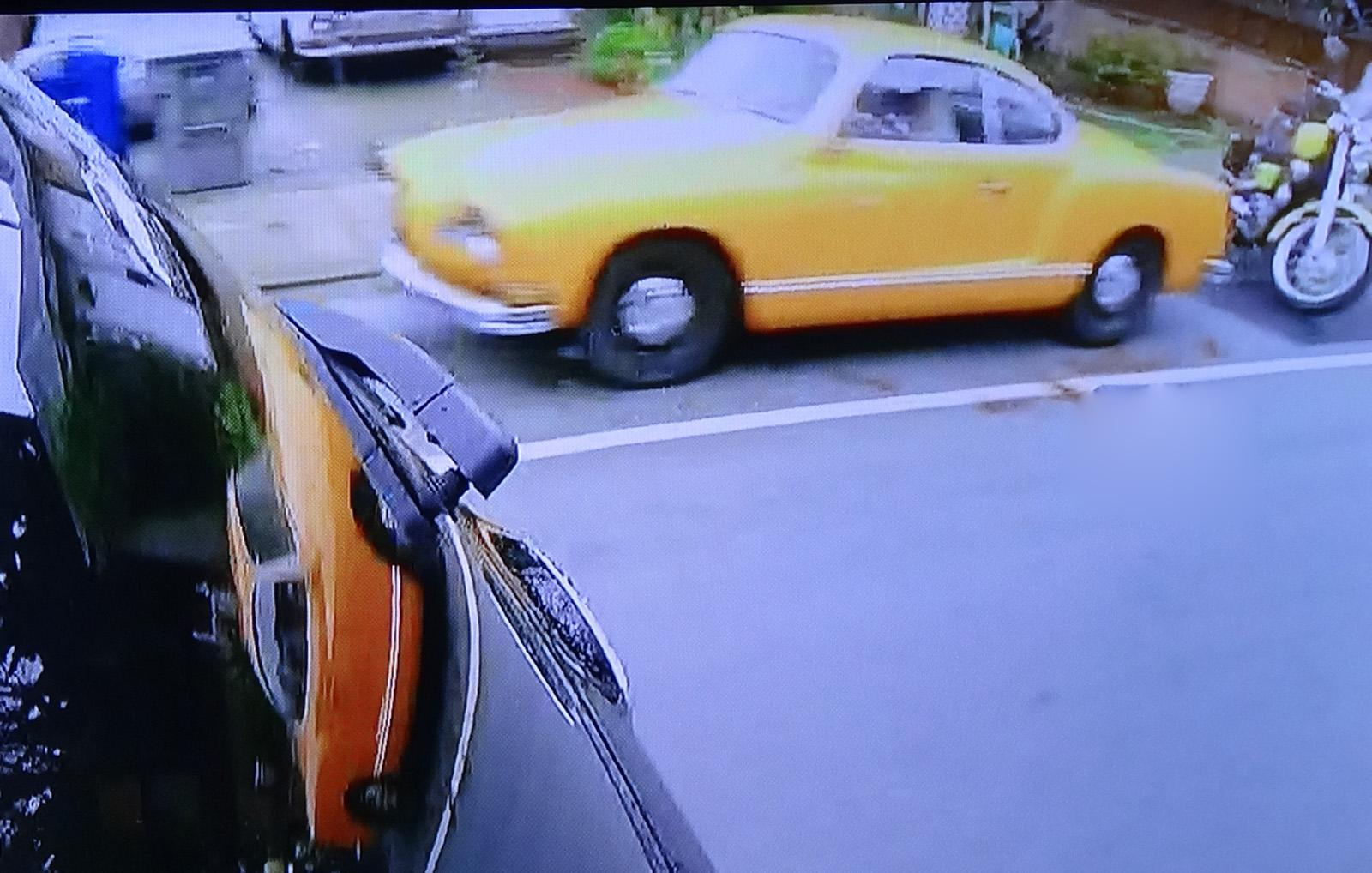 Karmann Ghia seen on Wheeler Dealers