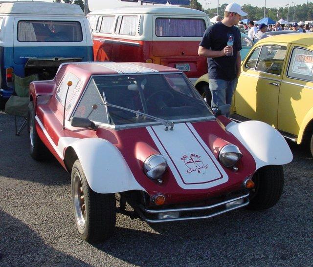 Some sort of strange VW kit car