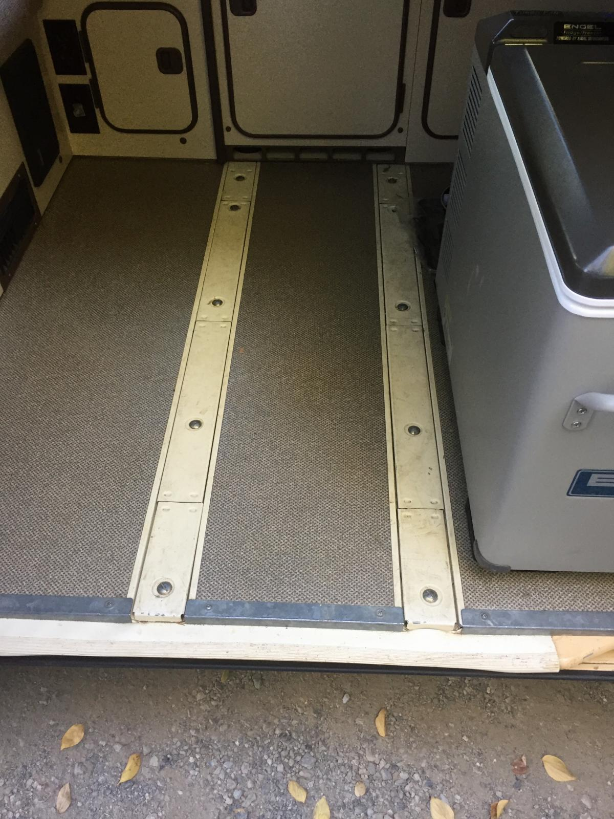 Westy seat rails