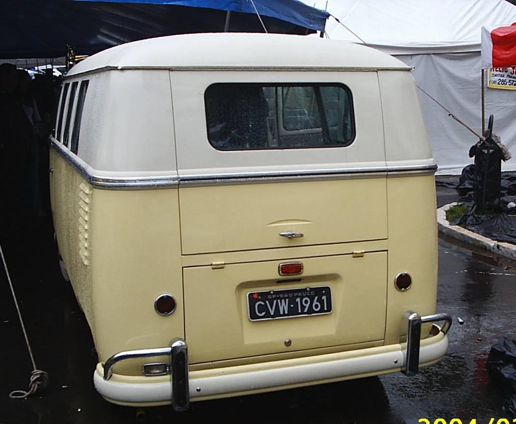 VW Kombi Deluxe 1961