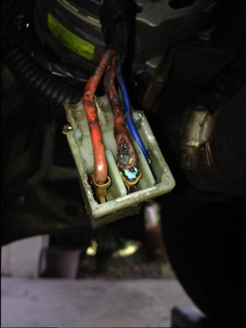 GTi MK1 wires to alternator
