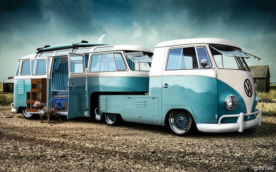 Vw Quote Custom Thesamba  Split Bus  View Topic  Fake 5Th Wheel Conversion