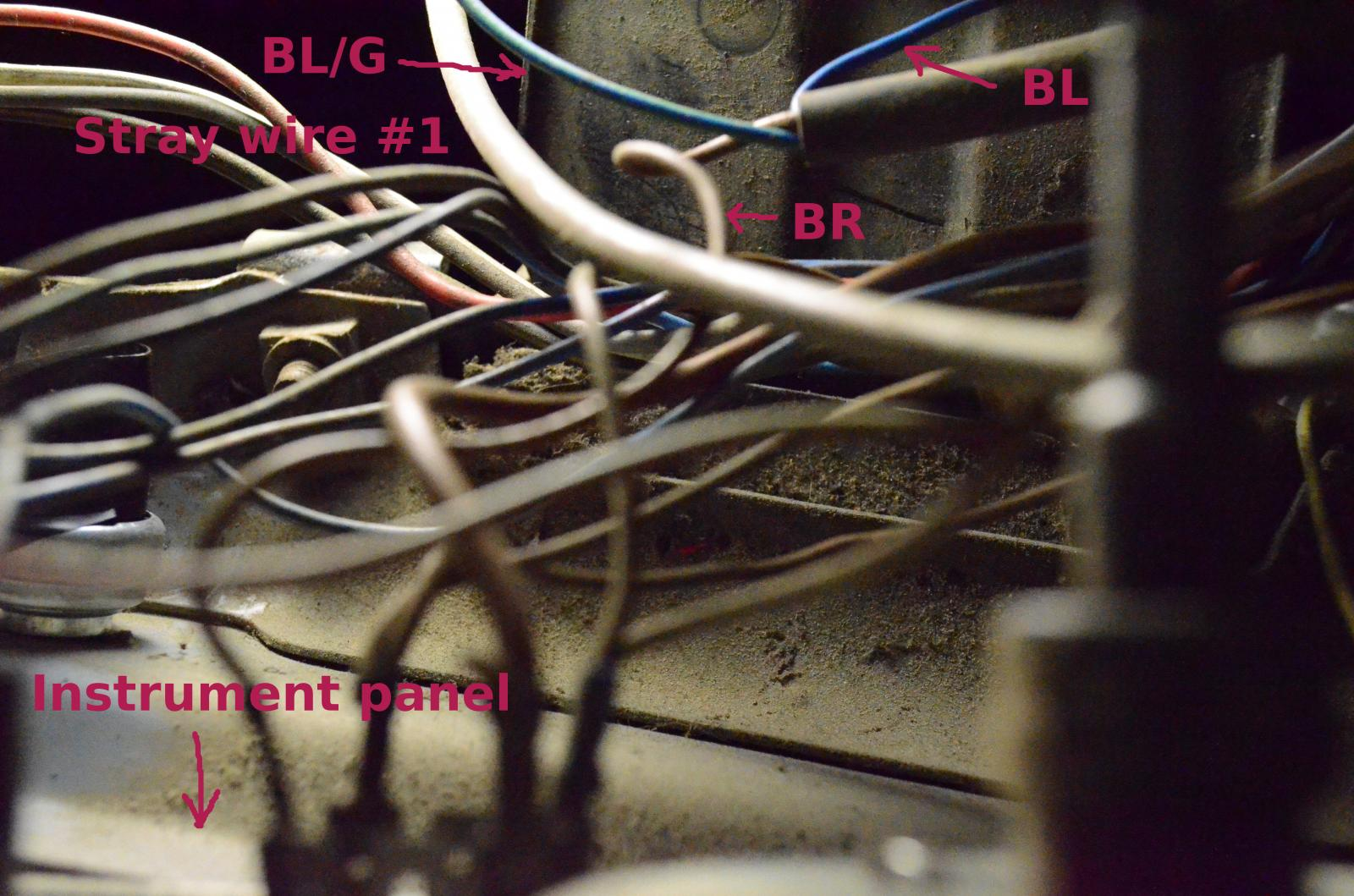 TheSamba.com :: Bay Window Bus - View topic - Stray wires behind the ...
