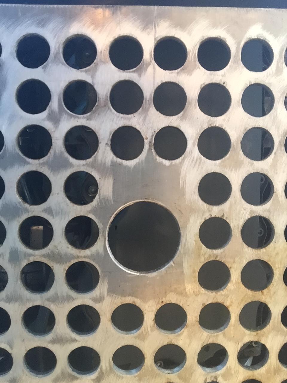 Oil cooler/skid plate