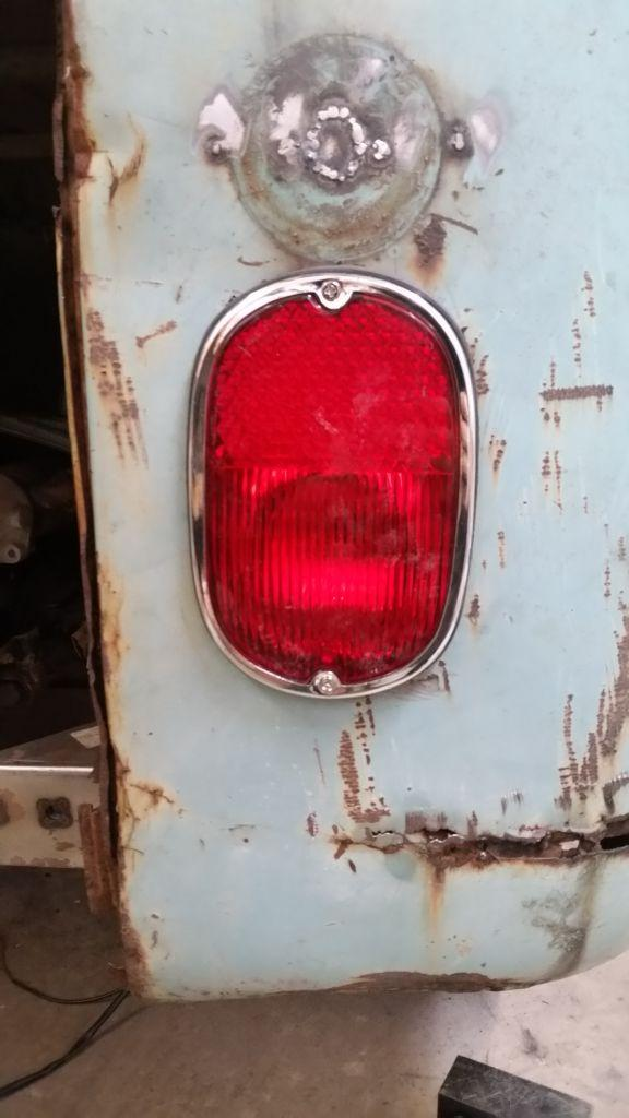 Fixing rear lights