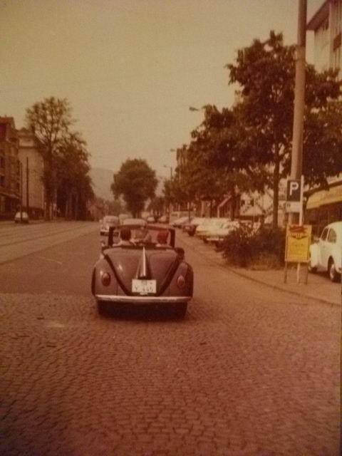 Hebmuller Nr. 254 at Brezeltreffen 1975 Fulda/Germany