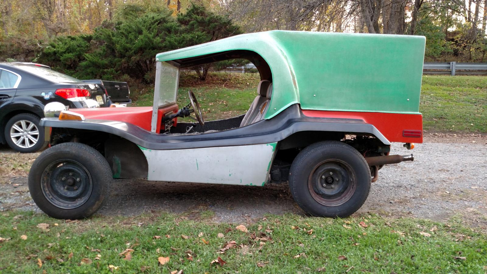 TheSamba com :: Gallery - Sand Rover Mini bucket T dune buggy