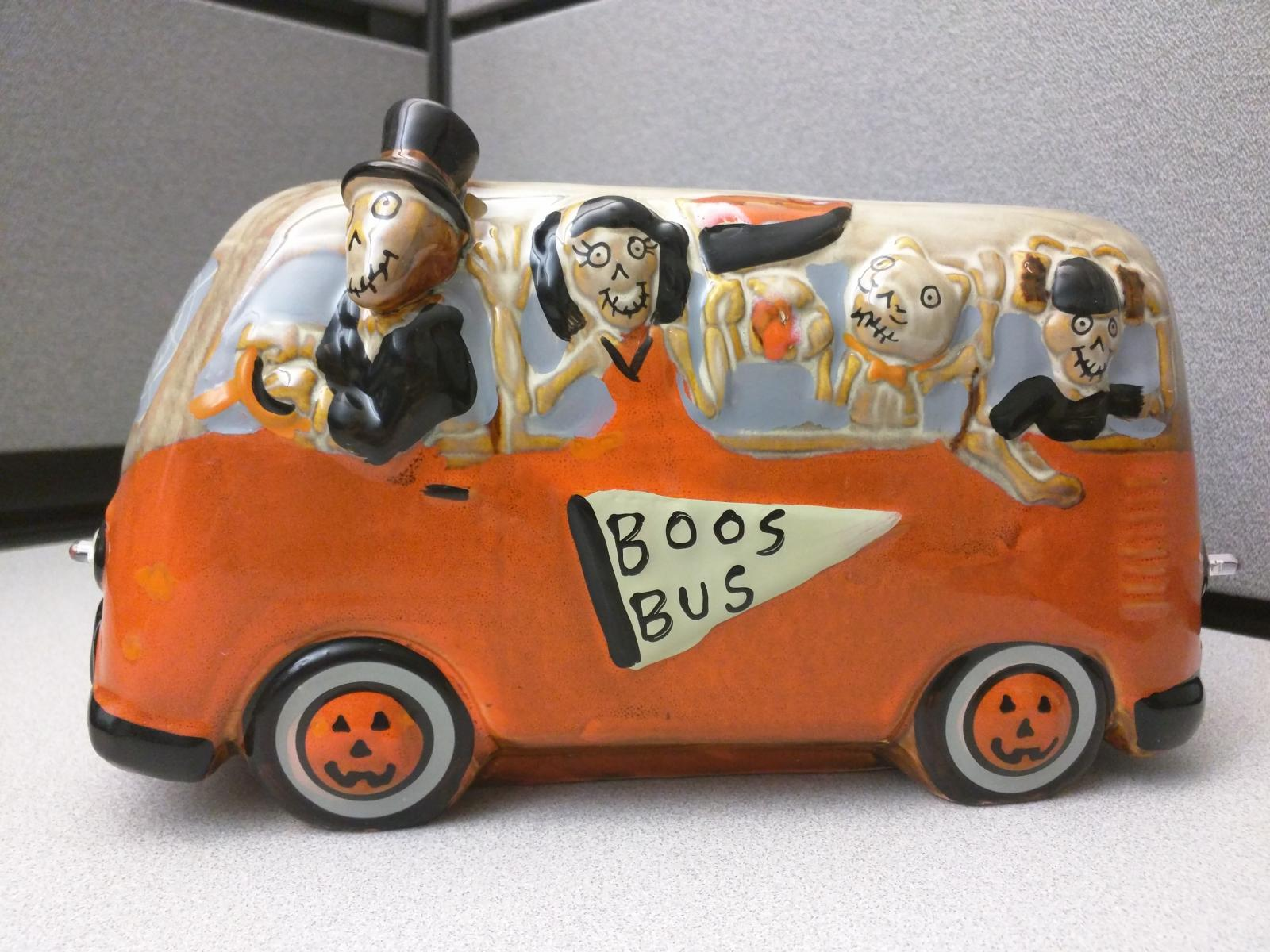 Boo Bus.