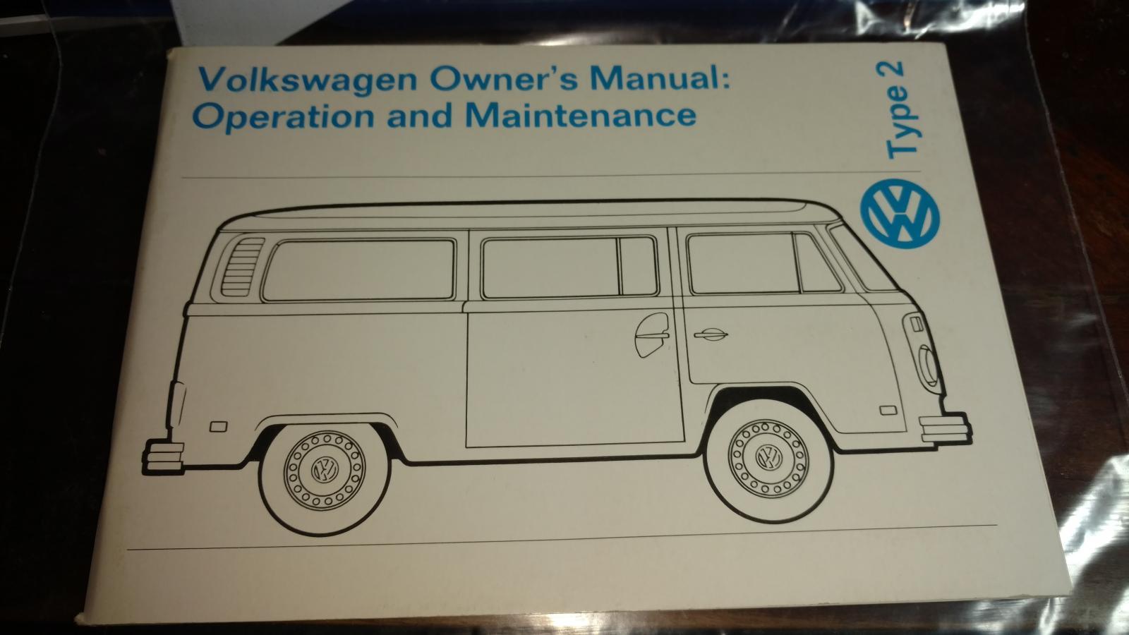 1974 bus manual