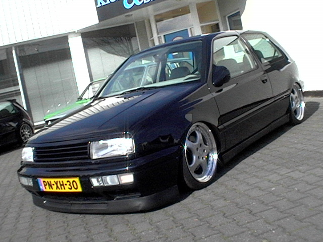 slammed mk3 on these fkin