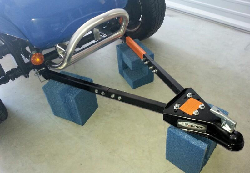 Tow Ready Tow Bar install on dune buggy