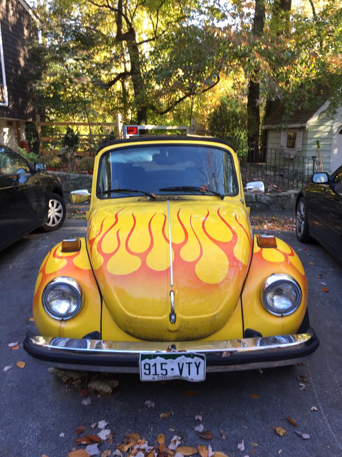1976 Super Beetle Convertible