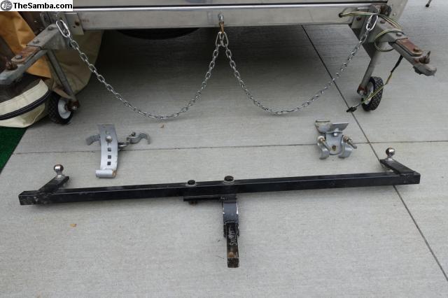 Heilite single wheel hitch option