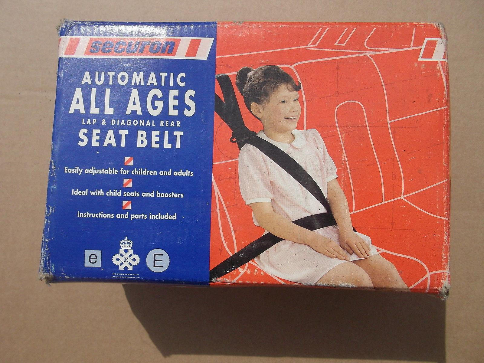 "Securon ""All Ages"" rear seat belt"