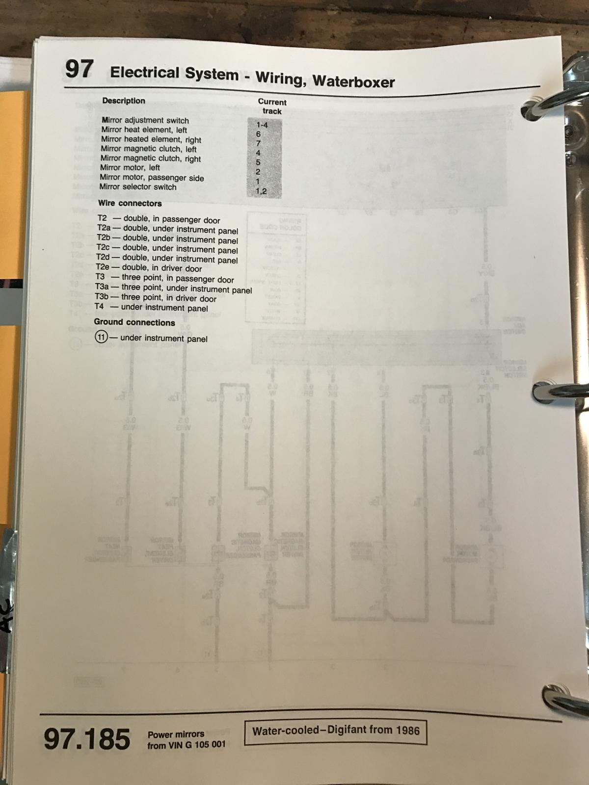 Vanagon View Topic Electric Window Wiring Diagram For International Heated Mirror Image May Have Been Reduced In Size Click To Fullscreen