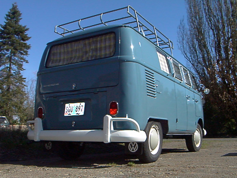 66 Dove Blue Camper