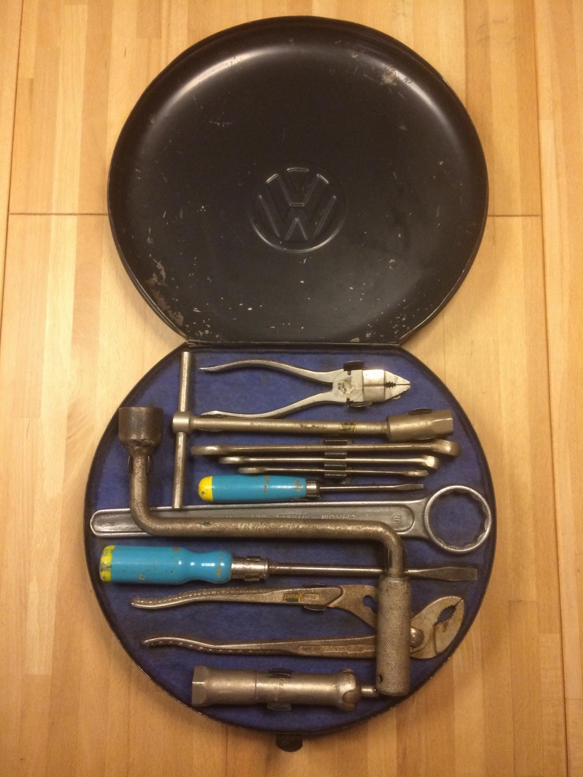 Barn find 16 Inch Split Hazet tool box