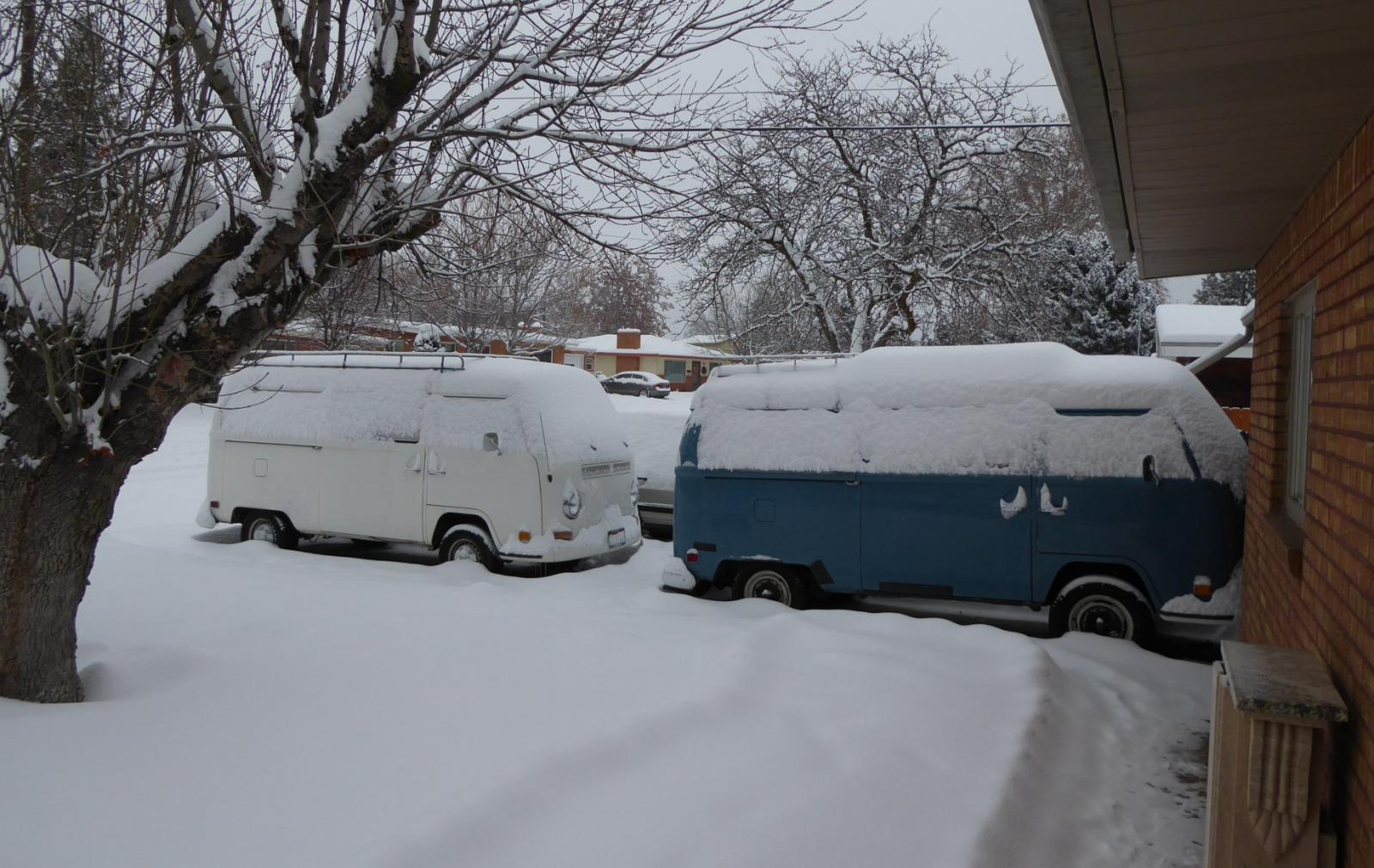 snow bays