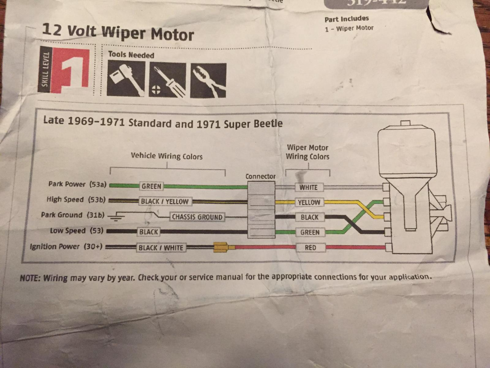 Hq Holden Wiper Motor Wiring Diagram - Wiring Diagram And ... on
