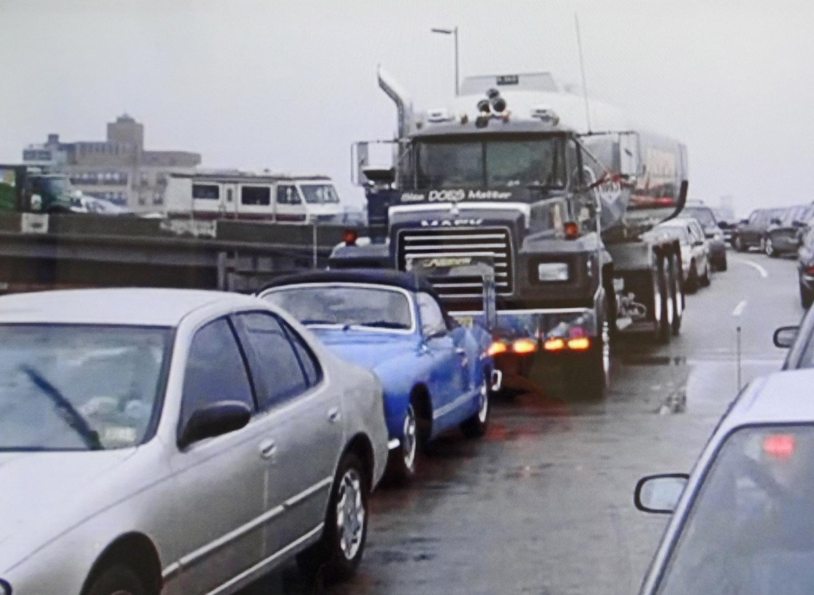 Karmann Ghia seen in the movie 'Two Weeks Notice'
