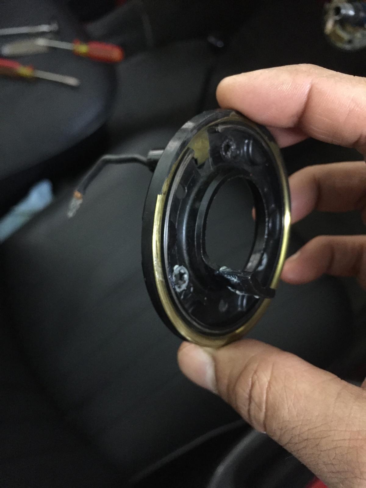 1971 Super Beetle Horn Ring